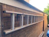 3.5 M Alloy 2 Piece Ladder