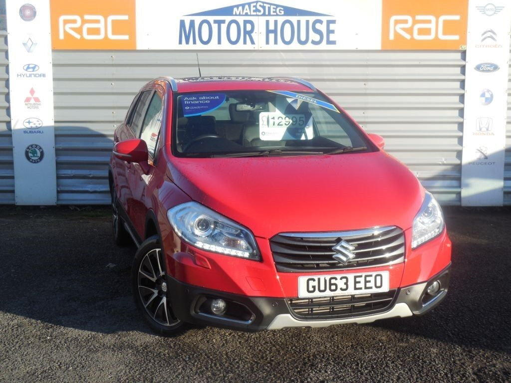 suzuki sx4 s cross sz5 ddis allgrip 4x4 free mot 39 s as long as you own the car red 2013. Black Bedroom Furniture Sets. Home Design Ideas