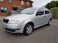 "***FOR SALE 2003 Skoda Fabia ""silverline"" WITH MOT UNTIL 23rd MARCH 18***"