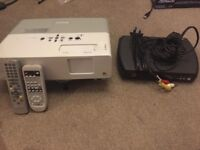 Epson EMP-83 Projector & Freeview Box