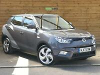 SsangYong Tivoli 1.6 D EX 5dr PRE-REG SAVE £1950 OFF NEW AND 3 YRS FREE SERVICING (grey) 2017
