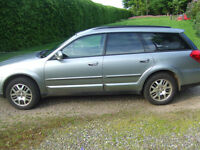 SUBARU OUTBACK 4X4 2006 GREY MANUAL 139000 FSH