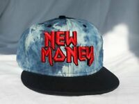 New Money Strapback Urban Hip Hop Fashion Cap Snapback Hat Christmas Gift
