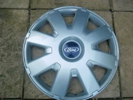 FORD 16 INCH WHEEL TRIM FOR MK2 FOCUS OR MK3 MONDEO IN GOOD CONDITION