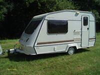 Elddis Wisp 350/2 caravan