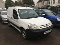 Citroen berlingo 1.6 HDI VAN ............NO VAT........