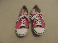 Womens Bright Pink Converse