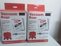Vacuum bags -Numatic Henry Compatible