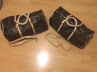 LAST 2 Louis Vuitton Duffle Bag with authenticity made in your name gym bag keepall genuine grade A