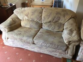 Sofas and chair