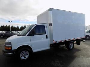 CHEVROLET EXPRESS 3500 CUBE 12 PIEDS RAMPE 2011
