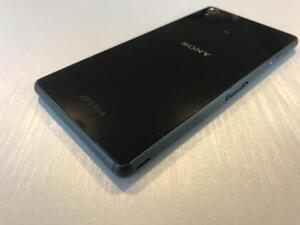Sony Xperia Z3 16GB Black - UNLOCKED W/FREEDOM - READY TO GO - Guaranteed Activation + No Blacklist