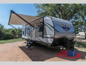 2018 Salem 27' DBUD camper trailer