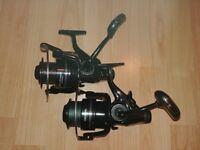x2 DAIWA Black Widow BR 4500A fishing reels