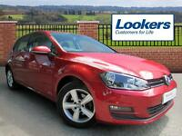 Volkswagen Golf MATCH TSI BLUEMOTION TECHNOLOGY (red) 2015-07-03