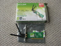 TP-Link TL-WN851ND wireless N PCI adaptor card (300Mbps) - boxed
