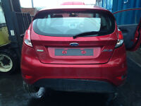 BREAKING - FORD FIESTA 2008-2016 - TAILGATE - RED - ALL PARTS AVAILABLE