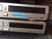 TWO PIONEER DVD PLAYERS