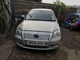 TOYOTA AVENSIS T3-X 2004- FOR PARTS ONLY