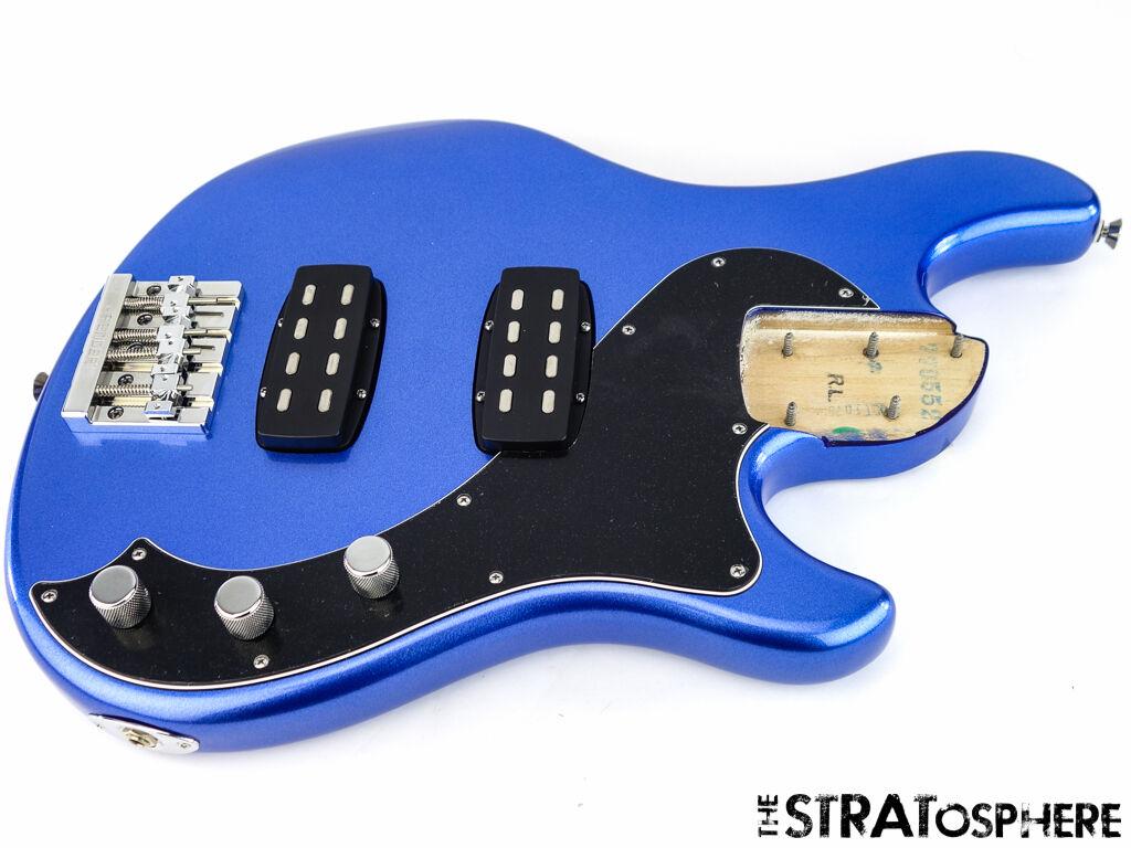 Cargado Fender American Dimension Bass IV Cuerpo Usa Standard Azul ...