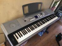 Yamaha portable grand keyboard/piano style