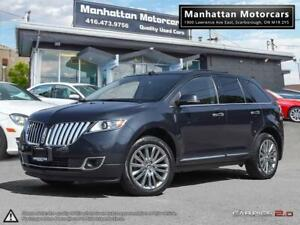 2013 LINCOLN MKX AWD LUXURY PKG |NAV|CAMERA|PANO|BLINDSPOT|1OWNR