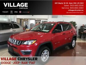 2017 Jeep Compass Sport+|4x4|Remote|Backup Cam|Heated Seats