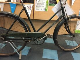 Hercules vintage bike restoration project