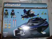 Playmobil Top Agents Speed Boat
