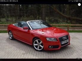 Audi A5 cabriolet convertible S-Line 2.0 TFSI