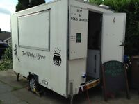 Catering trailer , fully kitted out and ready to go ,inc generator fridge freezer and much more