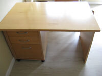 Three Drawer Desk