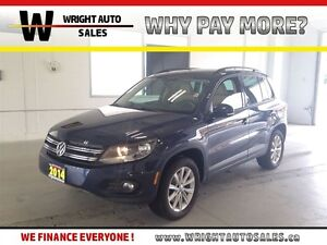 2014 Volkswagen Tiguan 2.0 TSI|AWD|SUNROOF|LEATHER|59,043 KMS