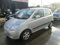 2008 CHEVROLET SE+ MATIZ SE PLUS 5 DOOR COMES WITH 12 MONTHS MOT CLEAN CAR INSIDE AND OUT