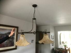 Vintage/antique glass ceiling light
