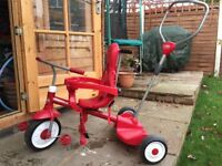 Radio Flyer Stand and Ride trike tricycle bike