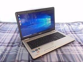 Toshiba Satellite Pro L550-17V Laptop Notebook - 17 inch