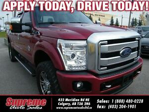 2013 Ford F-350 PLATINUM NAVI/B.CAM/LEATHER/MUSTSEE
