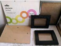 Various frames - different colours/sizes