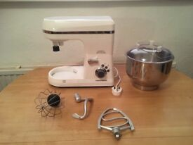 Morphy Richards White Total Control Stand Mixer