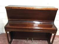 Circa 1950s fully working upright piano by methven Simpson of Edinburgh