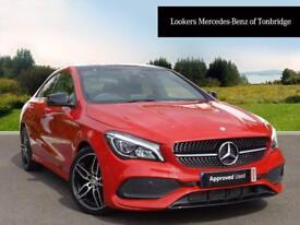 Mercedes-Benz CLA CLA 220 D AMG LINE (red) 2016-09-01