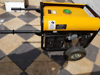 Wolf Power WP 3500LR Generator, 6,5HP, 2800-3200W, 230/115V, Near New