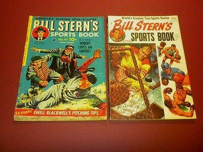BILL STERN'S SPORTS BOOK #10 (1951) and Winter 1952 ZIFF-DAVIS lot
