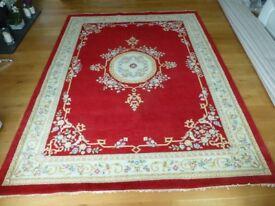 Large oriental pattern rug