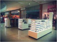 Retail Kiosk - Bespoke Display Corian Unit - Good long term business opportunity