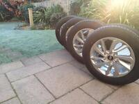 "Hyundai Tucson Alloy Wheels 17"" & Tyres - Band New"