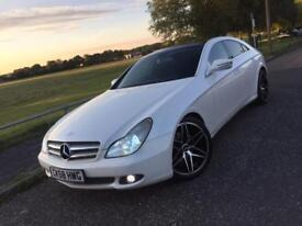 2009 MERCEDES CLS 320 CDI IN PEARL WHITE PART EX SWAP