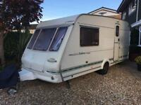 2 berth caravan with end bathroom