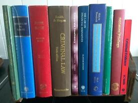 Joblot of 18 collectable and somehighly desirable law books